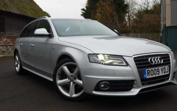 Audi A4 2.0 TDI 143 S Line 5dr Multitronic FAST and 54.3 MPG EXTRA URBAN