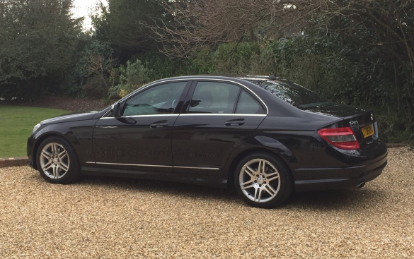 Mercedes-Benz C Class 2.1 C220 CDI AMG Sport 7G-Tronic Plus 4dr (Map Pilot) - HUGE SPEC!