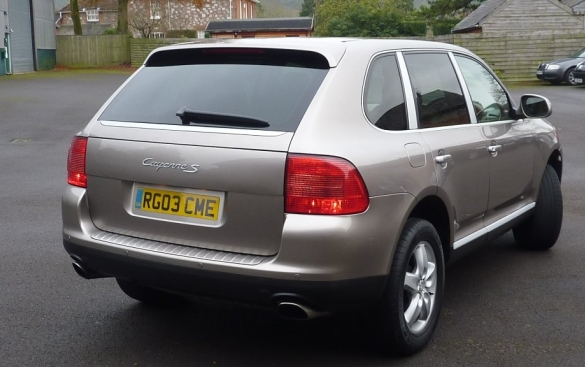 Porsche Cayenne S 5dr Tiptronic S 4.5 ELEC. SUNROOF + ONLY 56K MILES