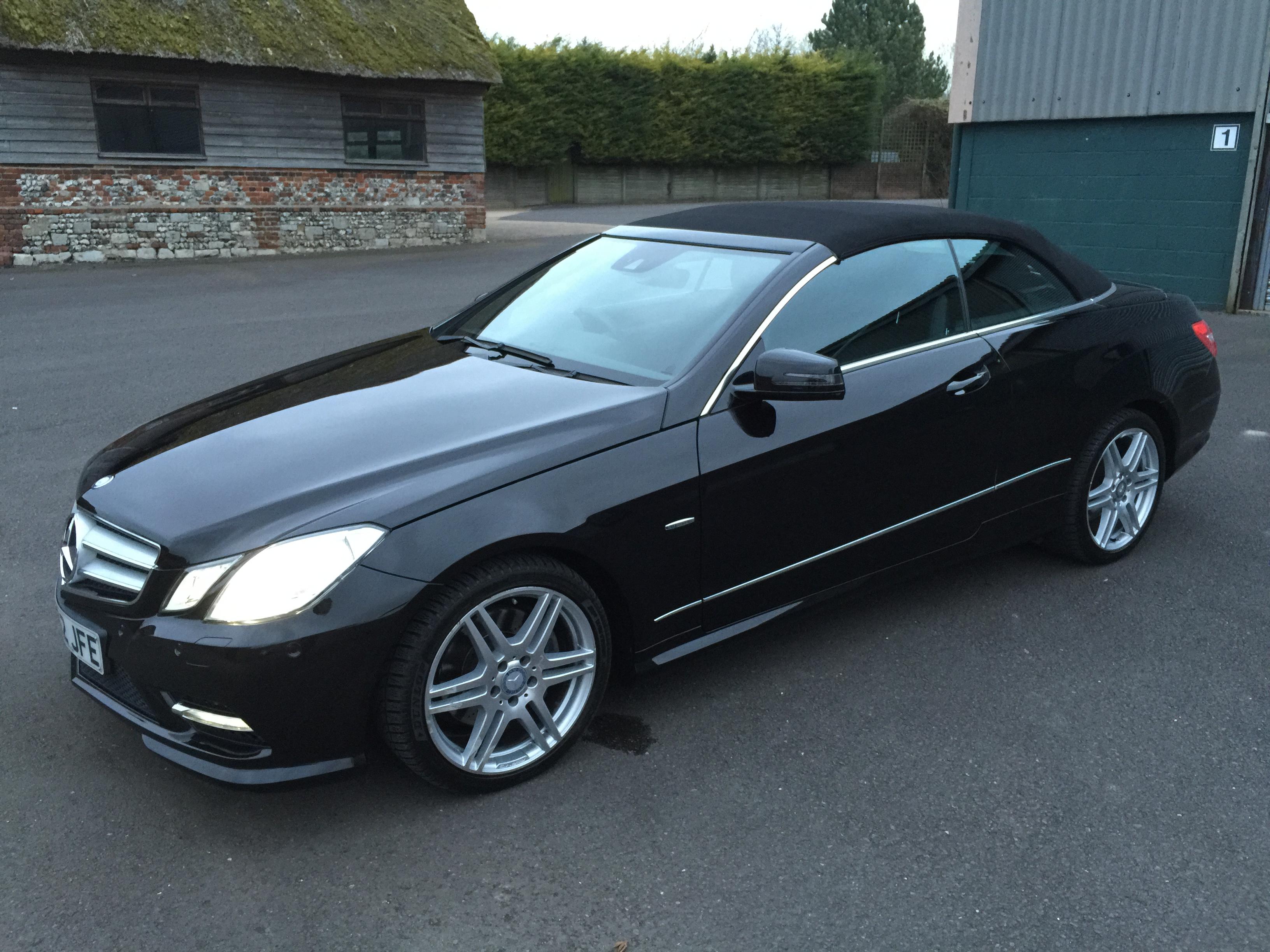 Mercedes benz e class 2 1 e250 cdi amg sport 7g tronic for Mercedes benz e350 black